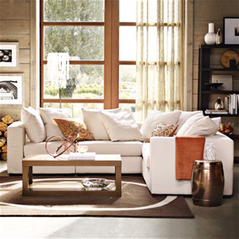 pottery barn inspired living rooms pottery barn style living room
