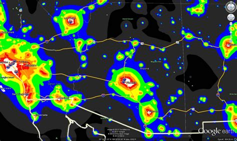 texas light pollution map light pollution map indiana indiana map