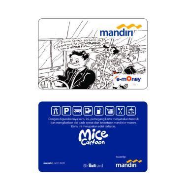 blibli mandiri jual mandiri e money mice cartoon edition transjakarta