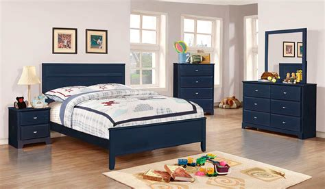 blue bedroom furniture transitional bed bedroom