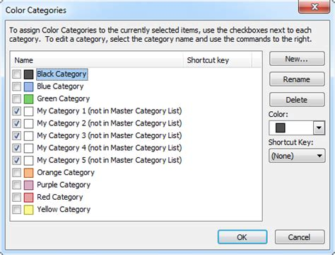 color categories backup and restore categories msoutlook info