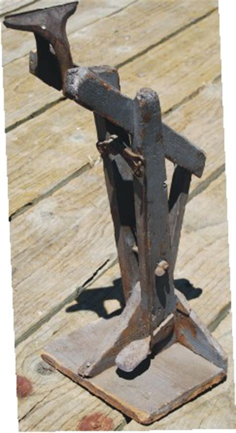 old bench vises antique leather vise