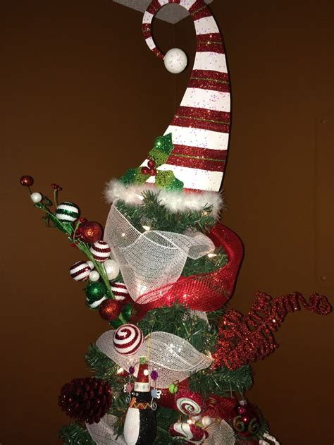 christmas tree whimsical tree topper from pier 1 happy