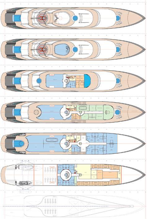 mega yacht floor plans 92m superyacht yacht island pinterest luxury yachts