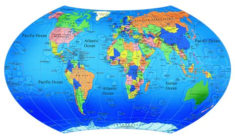 map of the earth world map world map
