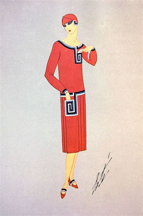 On Our Radar Stylecom Auctions Fashion Illustrations by Ert 233 Style Influence From A Fashion Illustrator The G