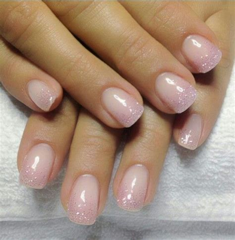 Manicure Gel glitter gel nails nail ideas manicures