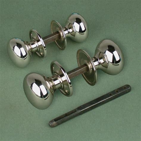 Cottage Style Door Handles nickel cottage door knobs nickel and chrome door knobs