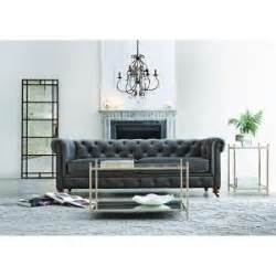 home decorators collection gray furniture the home depot home decorators collection gordon grey velvet sofa