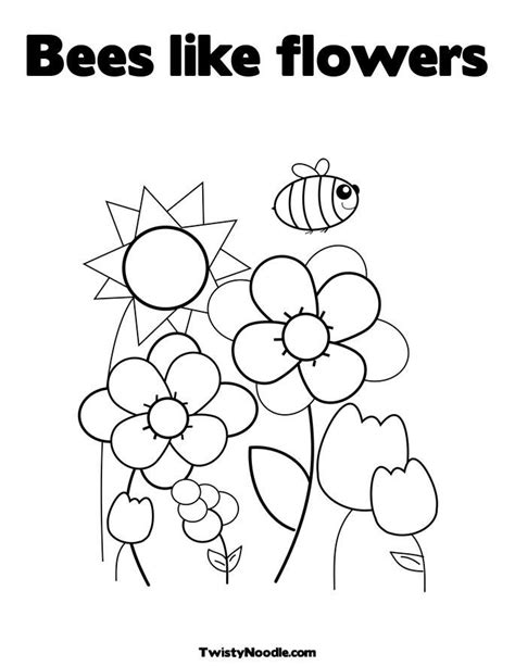 rainbow flower coloring page flowers rainbow bees colouring pages az coloring pages