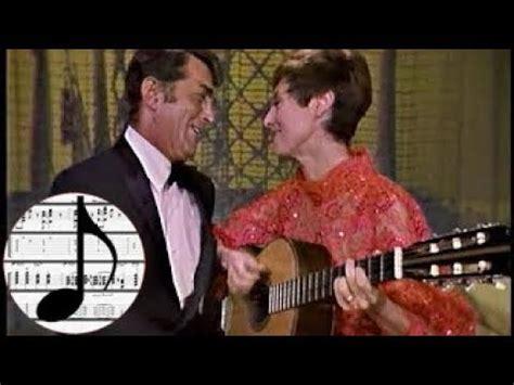 caterina valente and dean martin transcription quot samba de uma nota s 243 quot one note samba