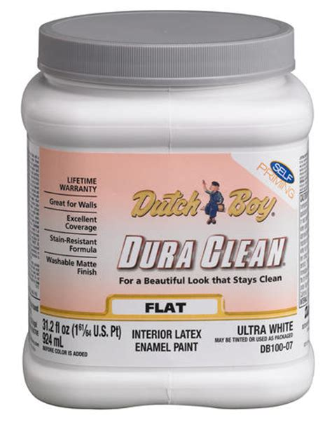 boy 174 dura clean 174 ultra white interior paint 1 qt at menards 174