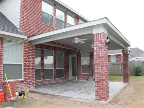 Patio Covers Houston by Patio Cover In Houston Hhi Patio Covers