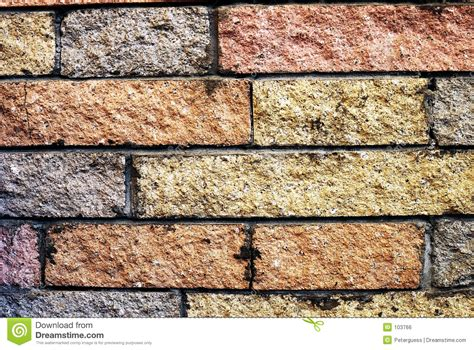 decorative brick walls decorative brick wall 70 s hearth royalty free stock