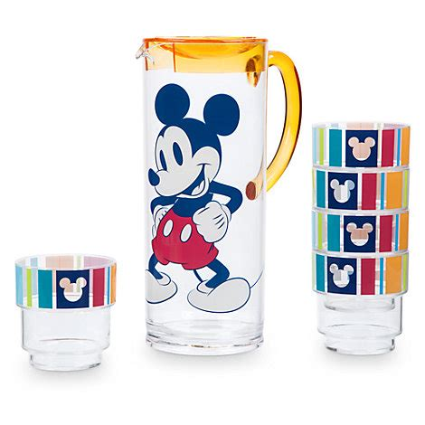 Piyama Cup Mickey mickey mouse pitcher set 5 cups summer collection