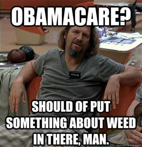 Obama Care Meme - the dude on obamacare trees
