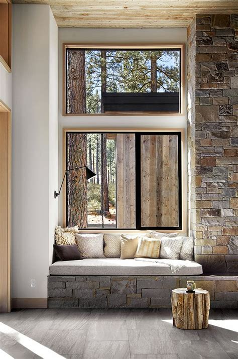 Small Mountain Home Decor Mountain Retreat Blends Rustic Modern Styling In Martis