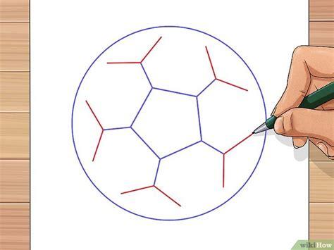 soccer haircut steps 3 formas de dibujar una pelota de futbol wikihow