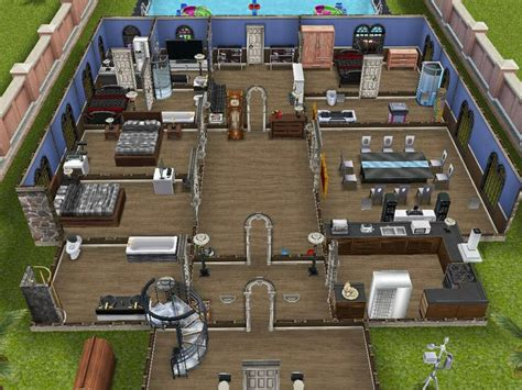 sim house plans this house is where my wealthiest sim lives sims freeplay pinterest open plan