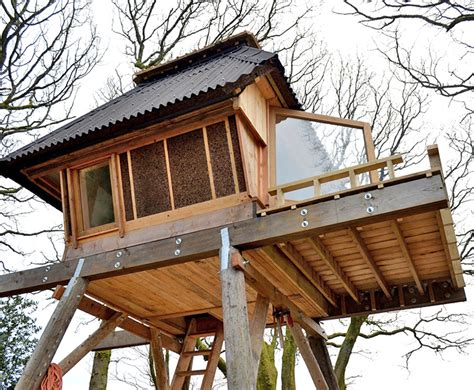 small house on stilts nozomi nakabayashi s dreamy house in the sky is made from locally sourced and reclaimed