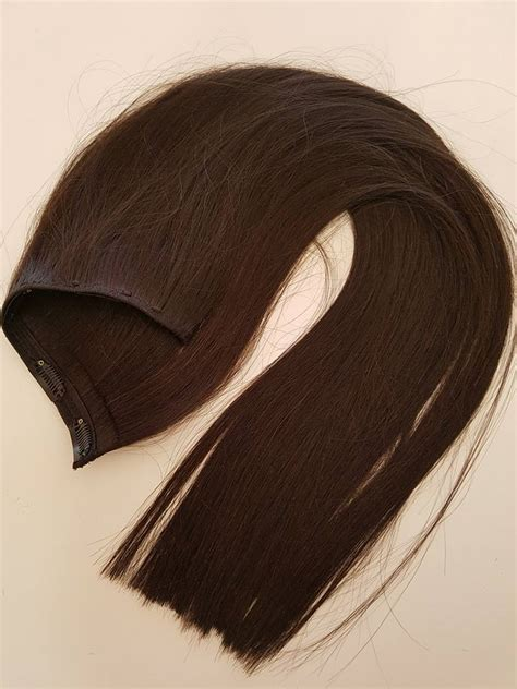 apliques tic tac cabelo humano aplique tic tac cabelo humano castanho liso 67cm 100gr