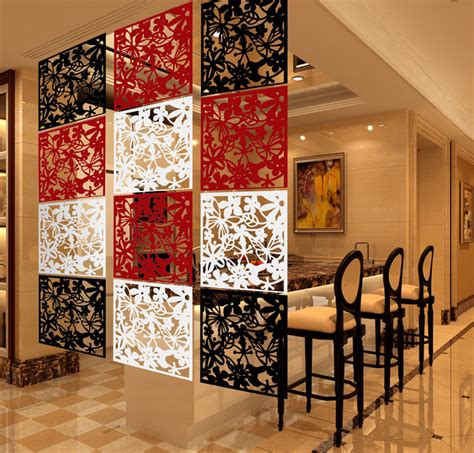 hanging screen home living room dining room partition hanging ornaments biombo folding screen stylish wall partitions