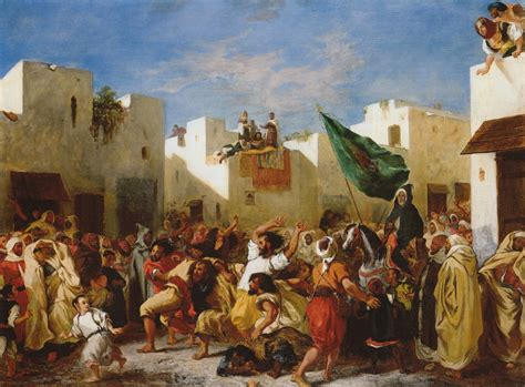 moroccan art history file delacroix fanatics of tangier 1838 950px jpg wikipedia