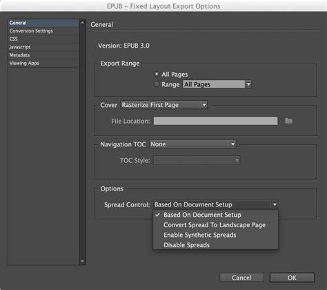 change layout to landscape in indesign adobe s new fxl export epubsecrets