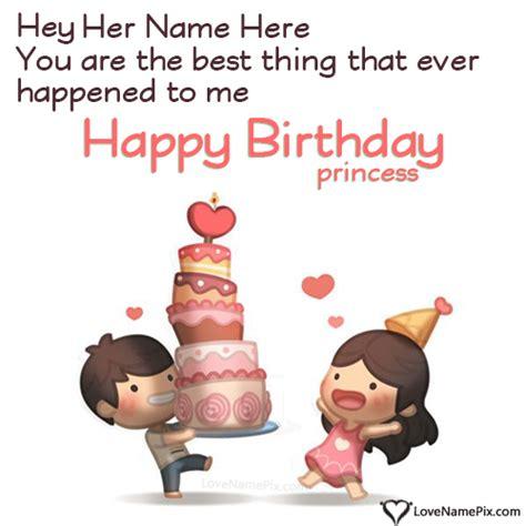 cute birthday wishes  girlfriend