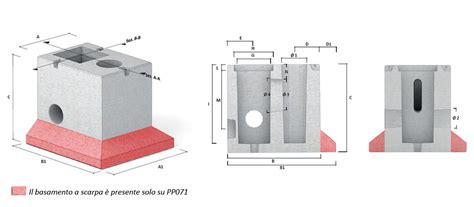 pali per illuminazione giorni oscar prefabbricati in calcestruzzo per opere di