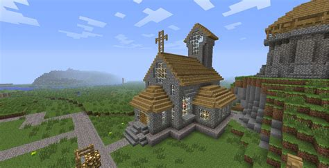 Blueprints For Small Houses by Village Church Minecraft Project