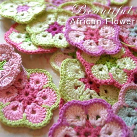 pattern african flower crochet free pattern beautiful african flower crochet