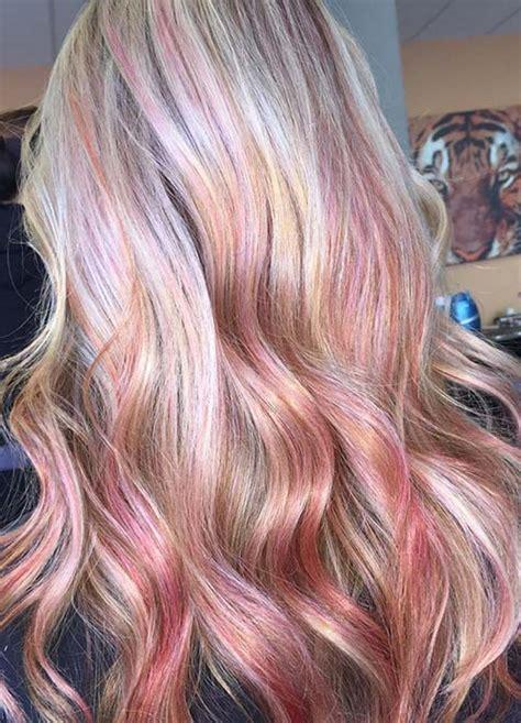 haircuts downtown sacramento 65 rose gold hair color ideas for 2017 rose gold hair