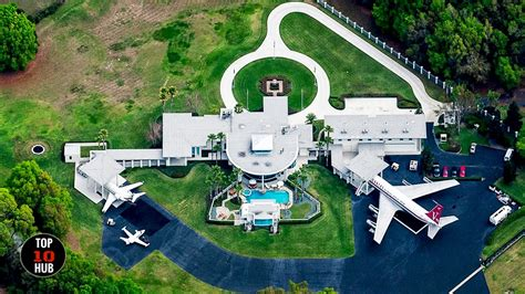 best celebrity homes top 10 most expensive celebrity homes youtube