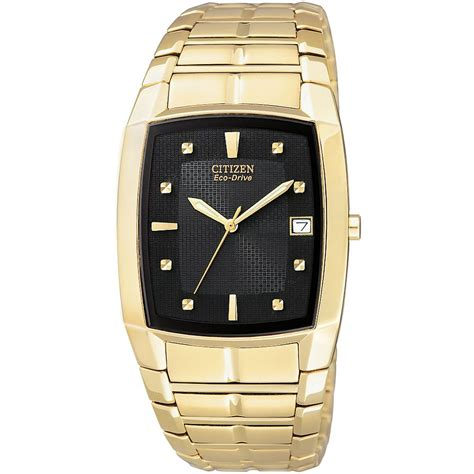 citizen bm6552 52e mens gold tone bracelet