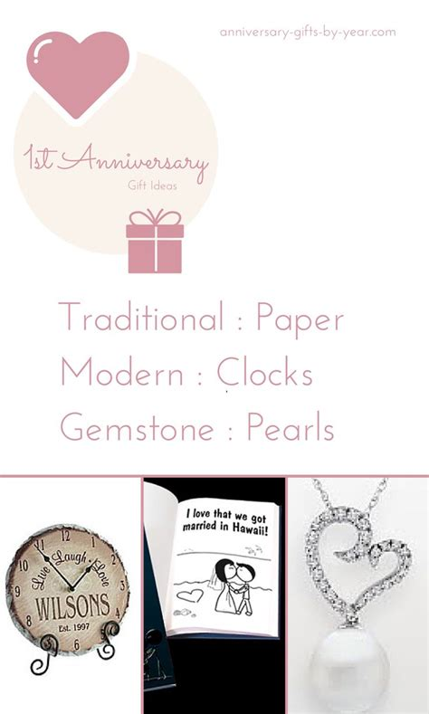 Traditional Wedding Anniversary Gifts Gemstones by 17 Best Images About 1st Wedding Anniversary Gift Ideas On