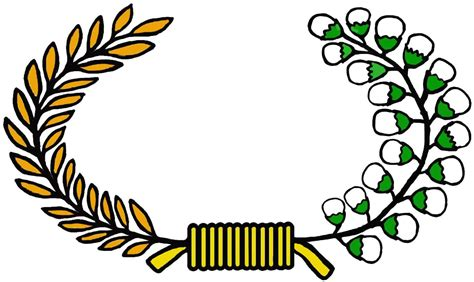 desain gambar padi suka suka blog makna logo lambang padi dan kapas