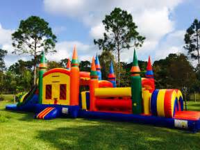 Bouncy House 3 In 1 Combo Bounce Houses My Bounce House Rentals Palm