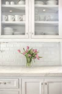white backsplash tile for kitchen beveled subway tile backsplash traditional kitchen allison interior design