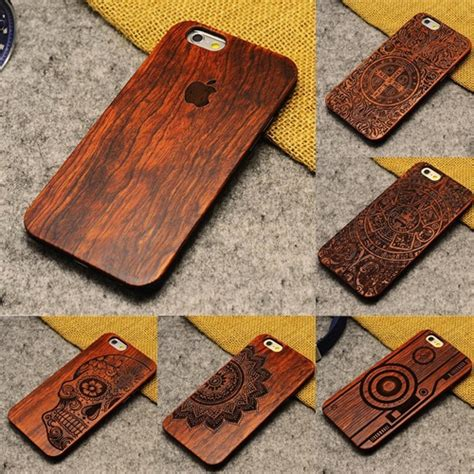 Casing Iphone 5s Bamboo 100 genuine wood cool for iphone 5 5s bamboo