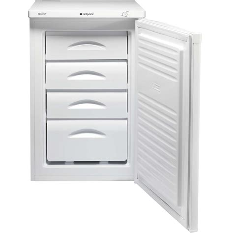 Counter Drawer Freezer by Hotpoint Rzaav22p1 A 55cm 78 Litres 4 Drawers