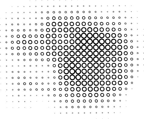 pattern line illustrator 11 vector circle halftone pattern images free vector dot