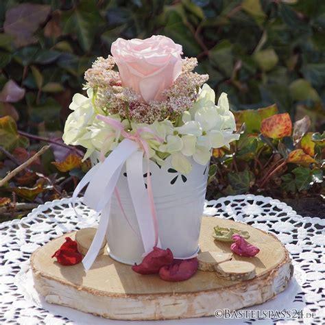 Tischdeko Silberhochzeit Selber Machen by Tischdeko Rosa Wei 223 F 252 R Hochzeit Feste Bastelspass24