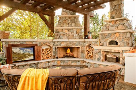 Garden Grille Ri by Inspiring Outdoor Fireplace Ideas Corner