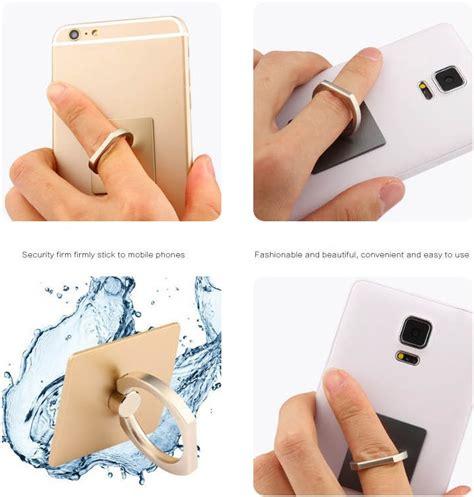 Iring Smartphone Cincin finger iring smartphone holder golden jakartanotebook