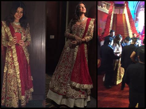 sushmita sen marriage sushmita sen walks down the aisle pictures sushmita sen