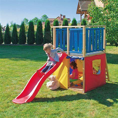 Kinderspielturm Garten by Kinderspielturm 1 4 X 1 X 1 6 M Bauhaus