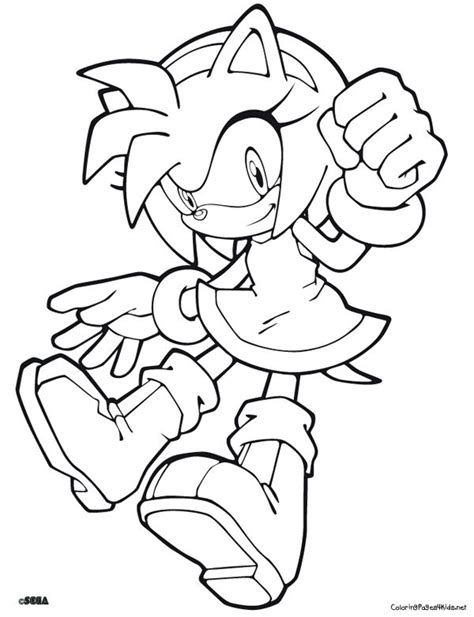 amy minecraft coloring pages sonic the hedgehog coloring pages sonic coloring pages