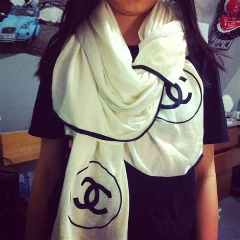 Channel Scarf large chanel scarf like these scarfs