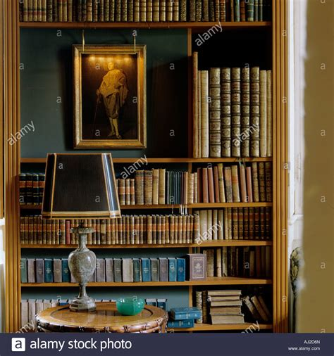decorative display books decorative display of antique books and an oil painting in